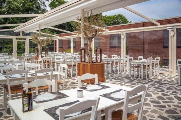 omega restaurant terrasse